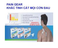 Pain Gear - Khắc tinh cắt mọi cơn đau