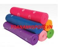 Thảm tập yoga hoa PVC 6 li