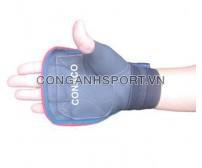 Găng tay tập tạ bằng da Conaco B2 (Đen)