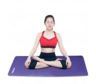 Thảm tập yoga TOÀN ANH NBR F-006T 10ly (Tím)