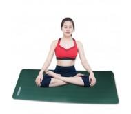 Thảm tập yoga TOÀN ANH NBR F-006XR 10ly (Xanh Rêu)