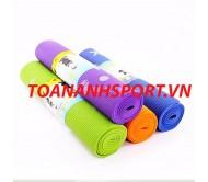Thảm tập Yoga PVC hoa 4 ly