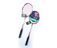 Vợt cầu lông có đan dây WINEX TAIWAN NANOTEC 9910 Đỏ 01 Cặp (2 Cây)